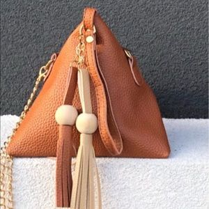 Pyramid Shaped Mini Bag